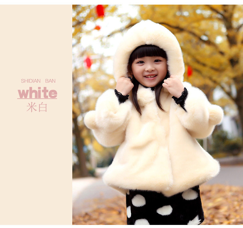 Image 5 - PPXX Plus Size Winter Girl Coats Fur Jackets Snow Kids Clothing Down Parkas Children Jacket Baby Coat Hooded Fashion ThickJackets & Coats   -