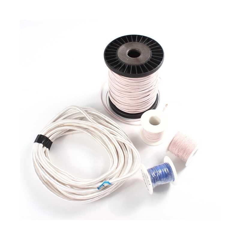 0.05mm 50 80 fils Litz fil brins cristal Micro antenne Occ Litz fils argent casque écouteur Litz câble bricolage 0.05