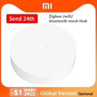 Xiaomi multimodo de casa inteligente Gateway 3 versión Global ZigBee WIFI Bluetooth de malla de centro de trabajo con Mijia sensores Homekit de Apple.