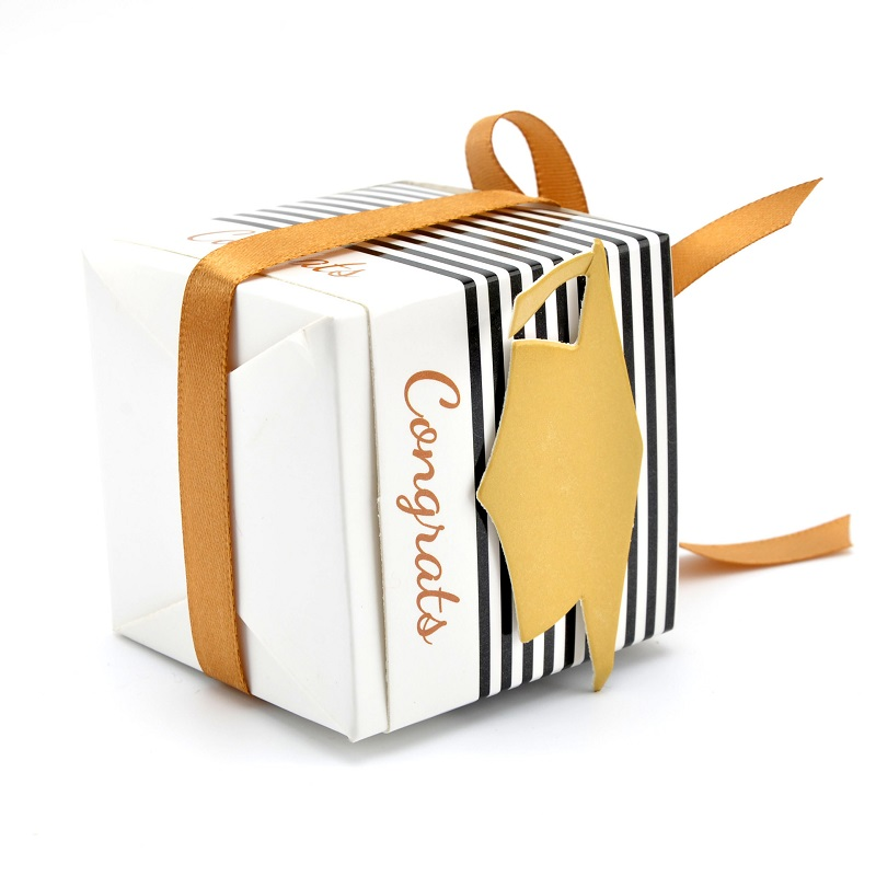 DIY Creative Sugar Box Graduation Celebration Party Supplies Decoration Hat Cap For Candy Favor Boxes Gift Packing Box (2)
