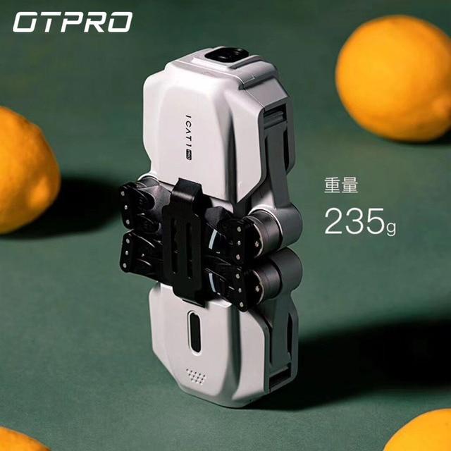 "OTPRO מיני dron 4K 5G מצלמה מל ""טים מקצועי GPS RC מסוק Brushless מנוע מתקפל RC Quadcopter 1080p צעצועי מתנת ילד"