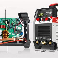 2в1 ARC/TIG IGBT инвертор дуговой Электрический сварочный аппарат 220V 250A MMA сварочный аппарат для сварки рабочих электрических рабочих электроинструментов