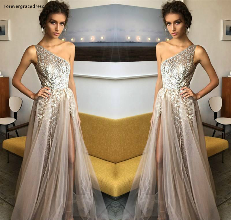 2019   Prom     Dress   One Shoulder Long Formal Pageant Holidays Wear Graduation Evening Party Gown Custom Made Plus Size