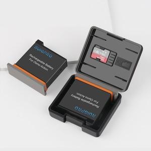 Image 5 - 2 stücke Batterie Fall Batterie TF karte Lagerung Box Feuchtigkeit beweis box Für DJI Osmo Action Sport Kamera Zubehör