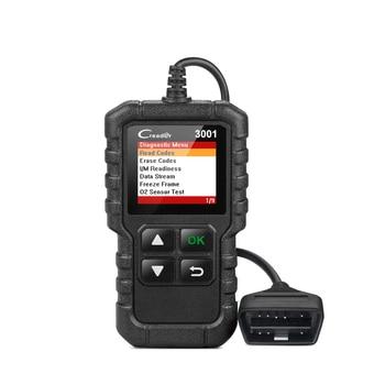 Lancement X431 Creader 3001 OBD2 lecteur de Code prise en charge complète OBD 2 EOBD fonction CR3001 Scanner automatique PK AD310 NL100 ELM327