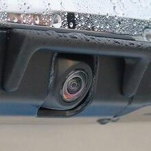 QHCP Car Reverse Camera Rain Shade Cover Anti-rain Protective Sticker Fit For Lexus ES200 260 300H 2018 2019 2020 2021 Accessory