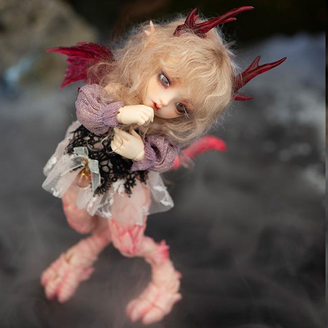 Fairyland Realfee Ena 1/7 Ena Dolls Dragon BJD Body Model Girls Boys Dolls eyes resin