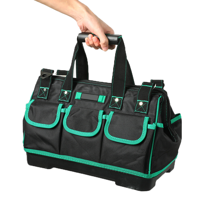 Tool Bag Portable Electrician Bag Multifunction Repair Installation Canvas Large Thicken Tool Bag Work Pocket 16/18/20inch