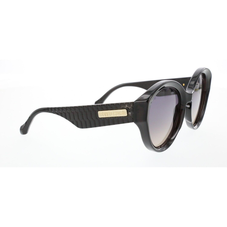 Women's sunglasses rc 1099 20b bone black organic oval aval 56-20-140 roberto cavalli