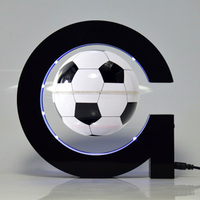 G Shape Football Home Decor Globes Electronic Magnetic Levitation Floating Globes Astronomy Decorative For Any Home Or Office