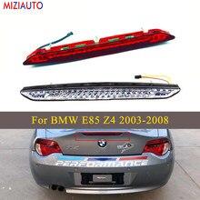 Wysokie położenie zamontowane tylne dodatkowe trzecie światło hamowania dla BMW E85 Z4 2003-2008 samochód stylizacji biały i czerwony LED hamulec Stop lampa