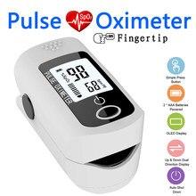 Monitor de sangue dedo oxímetro de pulso spo2 pi pr oled oxímetro saturação de oxigênio no sangue medidor de freqüência cardíaca monitor