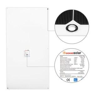 Image 2 - Dokio 12V 100W 1/2/3/4/6/8/10 pièces panneau solaire Flexible monocristallin 300W panneau solaire pour voiture/bateau/maison/RV 32 cellules 200W 1000W