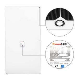 Image 2 - Dokio 12V 100W 1/2/3/4/6/8/10PCS Monocrystalline Flexible Solar Panel 300W Panel Solar For Car/Boat/Home/RV 32Cells 200W 1000W