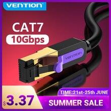 Vention Ethernet Кабель Cat 7 Lan кабель STP RJ45 сетевой кабель для совместимого патч-корда для компьютерный маршрутизатор ноутбук сетевой кабель