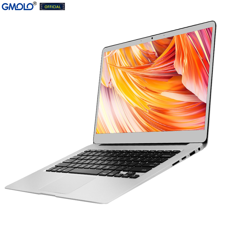 GMOLO 14 Intel I7 metal laptop 8GB 256GB / 512GB SSD 14inch 1920*1080 IPS FHD screen Windows 10 gaming notebook computer 1
