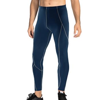 Męskie spodnie kompresyjne sport Baselayer trening aktywne rajstopy legginsy joga bieganie kolarstwo spodnie do fitnessu XXXL męskie spodenki na rower tanie i dobre opinie WOSAWE CN (pochodzenie) POLIESTER Stałe Men s tights legs man cycling winter Dobrze pasuje do rozmiaru wybierz swój normalny rozmiar
