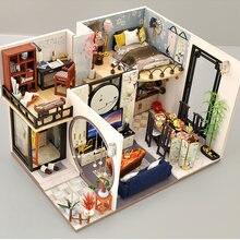 Cutebee детские игрушки кукольный домик с мебелью искусственный