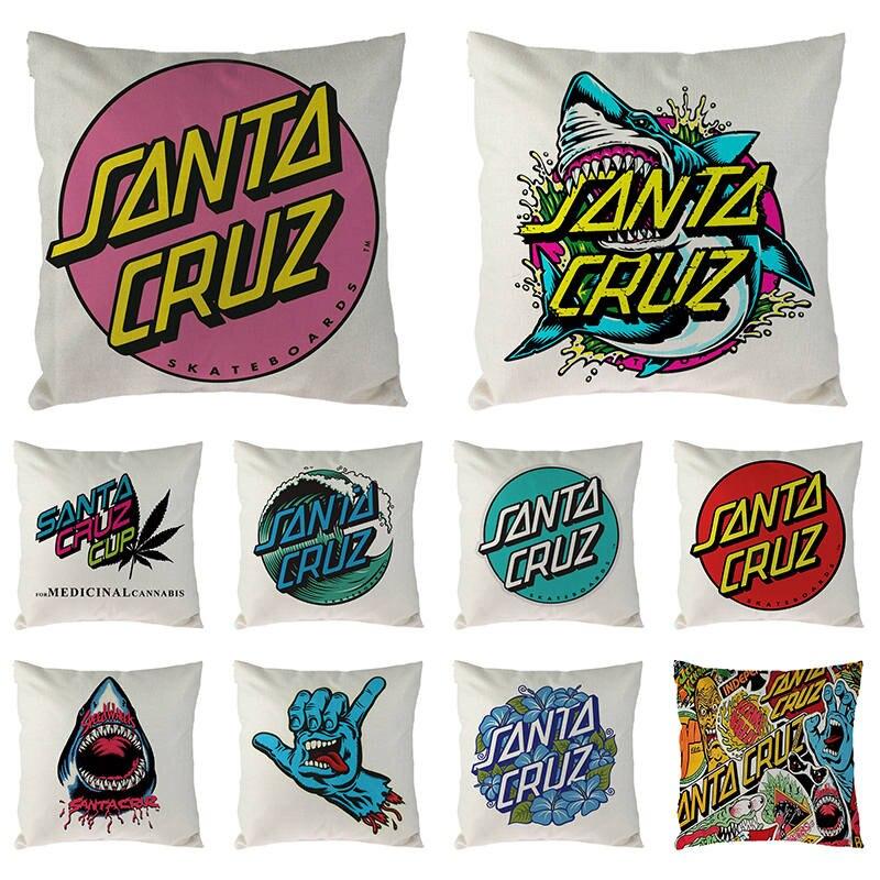 45cm*45cm Cushion Cover Santa Cruz Linen/cotton Pillow Case Home Decorative Pillow Cover Seat Pillow Case 1680