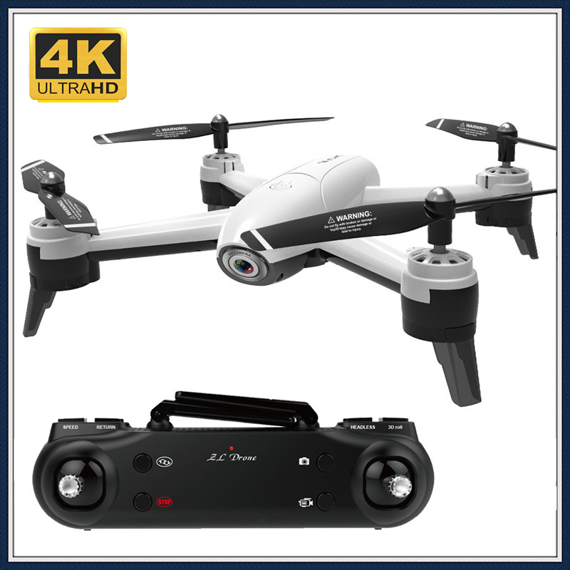 FPV Drone Dual Camera HD 4K 1080P 720P WIFI Dron 22 Mins Flight RC Helicopter Quadrocopter