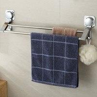 Handtuch rack  sucker typ  starke punch freies wc  bad  edelstahl haken und handtuch pol|Handtuchstangen|Heim und Garten -