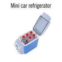 12V 7.5L мини Facilating автомобильный холодильник мини электронный холодильник морозильник охладитель дорожная сумка двойного назначения