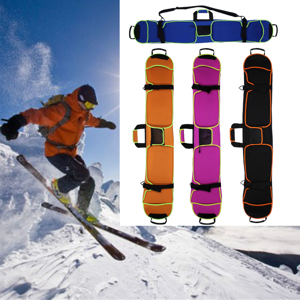 New Snow Board Skiing Ski Snowboard Bag Holdall Carry Case Shoulder Bag 145cm Ski Snowboard Protective Cover