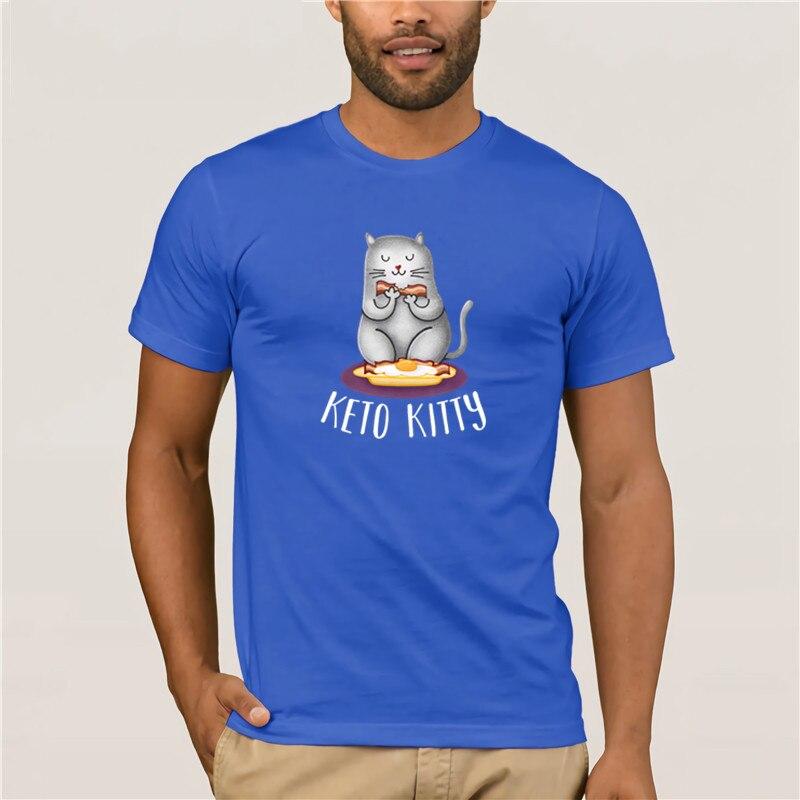 Camiseta de beisbol Keto Kitty create tee shirt Euro Size Fashion T Shirt 100% Cotton