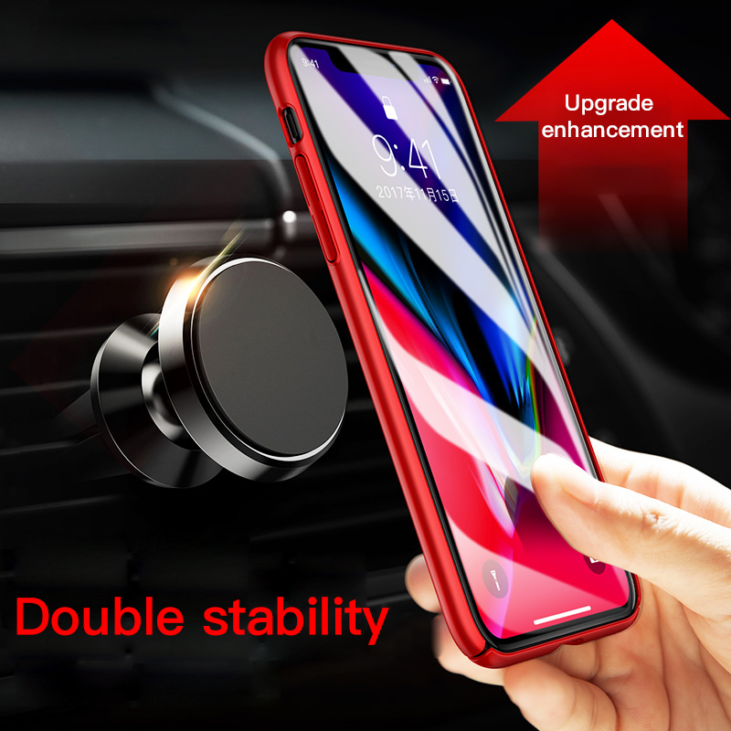 Universal Car Magnetic Air Outlet Bracket For Apple IPhone Samsung Huawei Xiaomi Oneplus 360 Rotating Smart Phone Holder Stand