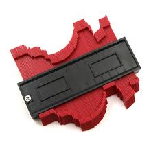 Kopiowanie Gage 120 250mm wielofunkcyjny nieregularne kształty biorąc kształty Contour Gauge promień kształty biorąc kształty tanie tanio altkomva Maszyny do obróbki drewna 0-300mm Z tworzywa sztucznego Zaciski dzielnik AL004 Multi-Functional Take- Gauge Arc Feet