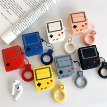 For AirPods Case Silicone Cute 3D Wireless Bluetooth Retro Game Machine Headphones For Apple Airpods 2 Earphone Protective Cover