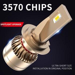 Image 2 - ASLENT רכב פנס אין שגיאת h7 led canbus H4 LED H1 H8 H11 HB3 HB4 9005 9006 9012 60W 20000lm 6500K אוטומטי מנורת ערפל אור נורות