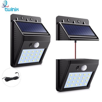 Solar Lighting 30 LEDs Portable/3 FunctionMotion Sensor + Dimmable Lighting + Continuous Combination Mode