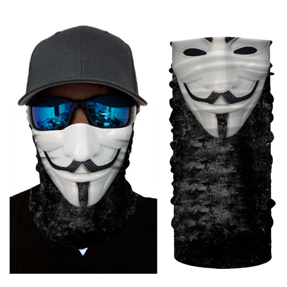 2020 New Motorcycle Face Mask Clown Neck Leggings Turban Outdoor Sports Bike Tube Scarf Seamless Sunscreen Turban