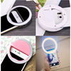 Universal Selfie LED Ring Flash Light Portable Mobile Phone 36 LEDS Selfie Lamp Luminous Ring Clip for IPhone for Samsung Huawei discount