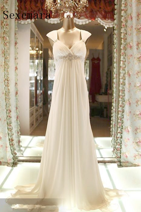 Custom Sexy Backless Chiffon Long Prom Gown 2018 Vestidos Crystal Beading Evening Gowns Formal Mother Of The Bride Dresses