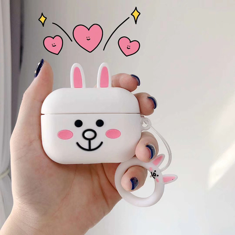 Cute 3D Silicone Case for AirPods Pro 138
