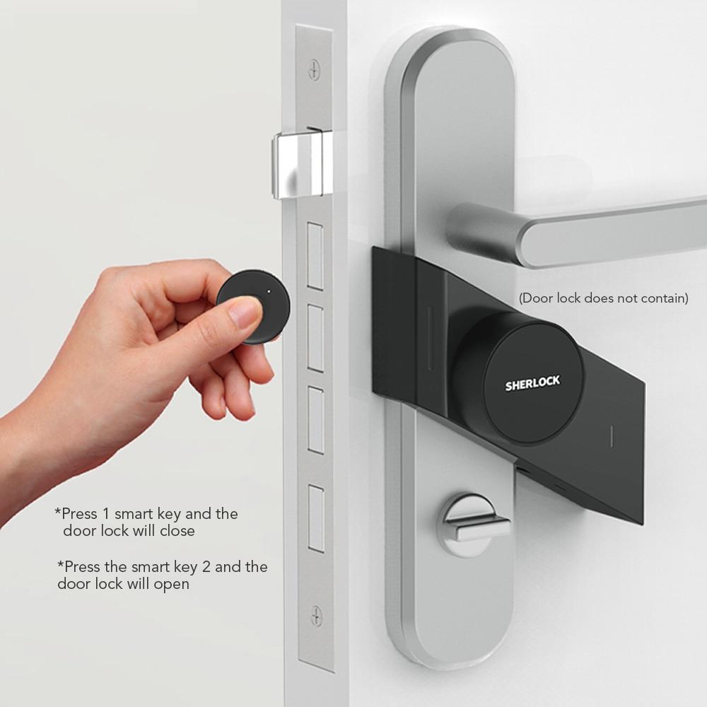 S2 Sherlock Lock With 1unit Bluetooth Key In Stock , Keyless Lock ,Smart Door Lock Bluetooth Wireless Phone App Control