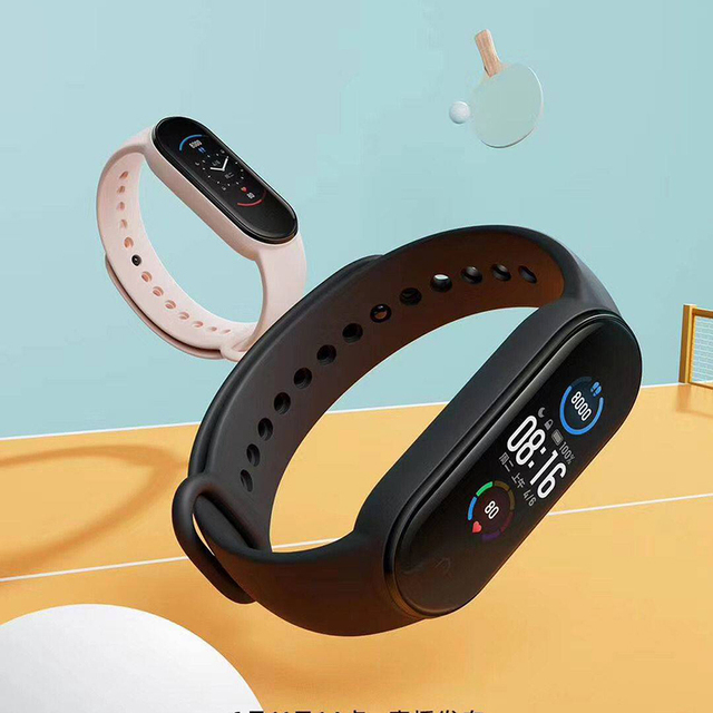 Xiaomi Mi Band 5 Smart Bracelet AMOLED Screen Smartband Fitness Traker 3