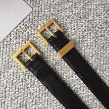 Cinturones de piel auténtica para mujer, cinturón de marca famosa de alta calidad de diseñador de lujo para vestido, 2021