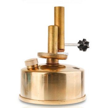 1 szt Typ siedzenia alkohol blowtorch regulacja wysokiej temperatury do laboratorium chemiczne ogrzewanie lampy alkoholowej tanie i dobre opinie Laboratorium urządzeń ogrzewania