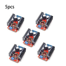 5 шт., повышающий преобразователь постоянного тока, зарядная Модульная плата 150 Вт DC-DC Выход DC12V-35V Регулируемый повышающий Питание повышающи...