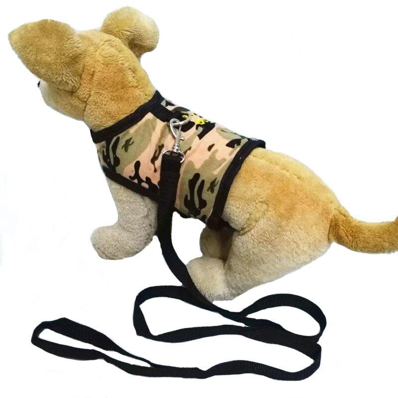 Nursing Pet's Chest-back Camouflage Corduroy Dog's Straps Hand Holding Rope Dog Useful Product