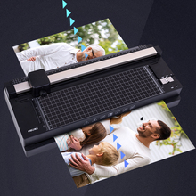 Multifunction Laminating Machine With Paper Cutter Hot And Cold Mounting Certificate Laminator Photo Thermoplastic Glue Machine gold silver red hot stamping foil paper laminator laminating transfer on elegance laser printer craft paper 50pcs 20x29cm a4