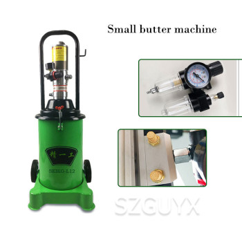 High pressure butter machine Mechanical equipment pneumatic butter machine 12L butter Oil injector фото