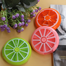 1PC Weekly Rotating 7 Day Pill Container Box Splitter Organizer Medicine Cutter Travel Pillbox Health Stationery