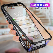 360 Double Sided Glass Metal FrameGlass Cover For Redmi note10 9S 8 8T 7 Pro 8A K20 Xiaomi 10 9SE 9T 9Lite CC9 CC9E A3 POCO F1