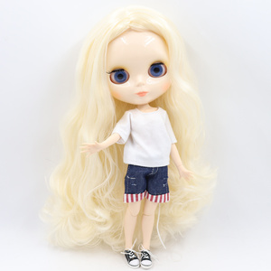 Image 3 - ICY DBS Blyth doll No.2 glossy face white skin joint body 1/6 BJD special price ob24 toy gift