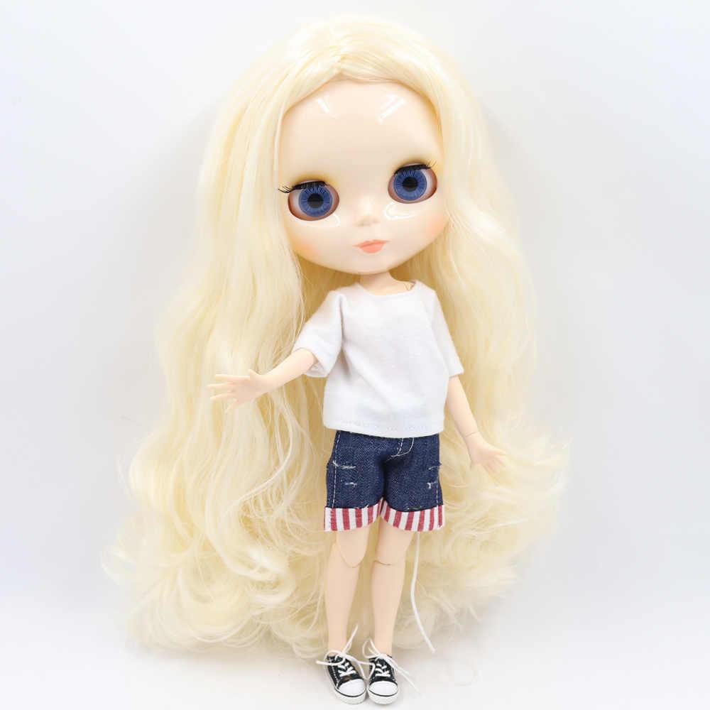Ice blyth Кукла № 2 глянцевый белый кожи шарнирное тело 1/6 BJD Специальная цена 1/4 BJD, Pullip, Jerryberry, Licca игрушка в подарок