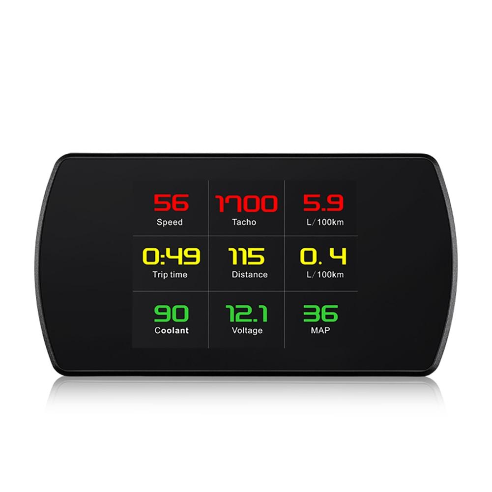 P12 OBD2/T800 GPS universel Auto projecteur d'affichage de voiture TFT LCD numérique